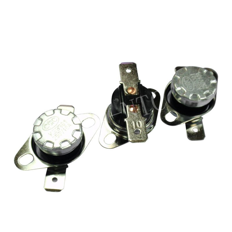 50PCS Thermostat 40C-350C KSD302/KSD301 10A250V 0C 5C 10C 15C 20C  30C 35C degrees Normal Closed open