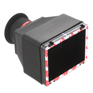 """Image 4 - LCD Viewfinder 3.2"""" 3x Loupe Magnifying Eyecup for Universal 3.2"""" Screen DSLR Camera Rubber"""