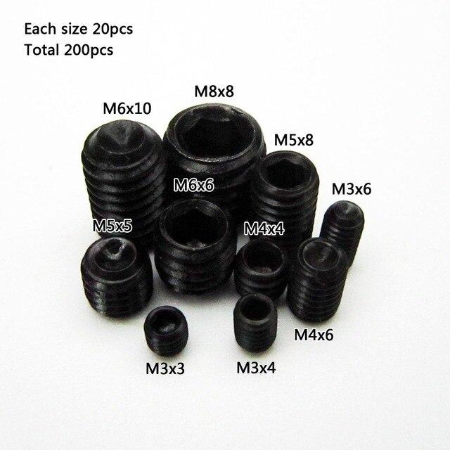 Aliexpress Buy 50pcs Black Allen Head Socket Hex Set Grub