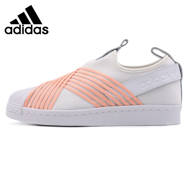Original New Arrival 2018 Adidas Slip On Women's  Skateboarding Shoes Sneakers