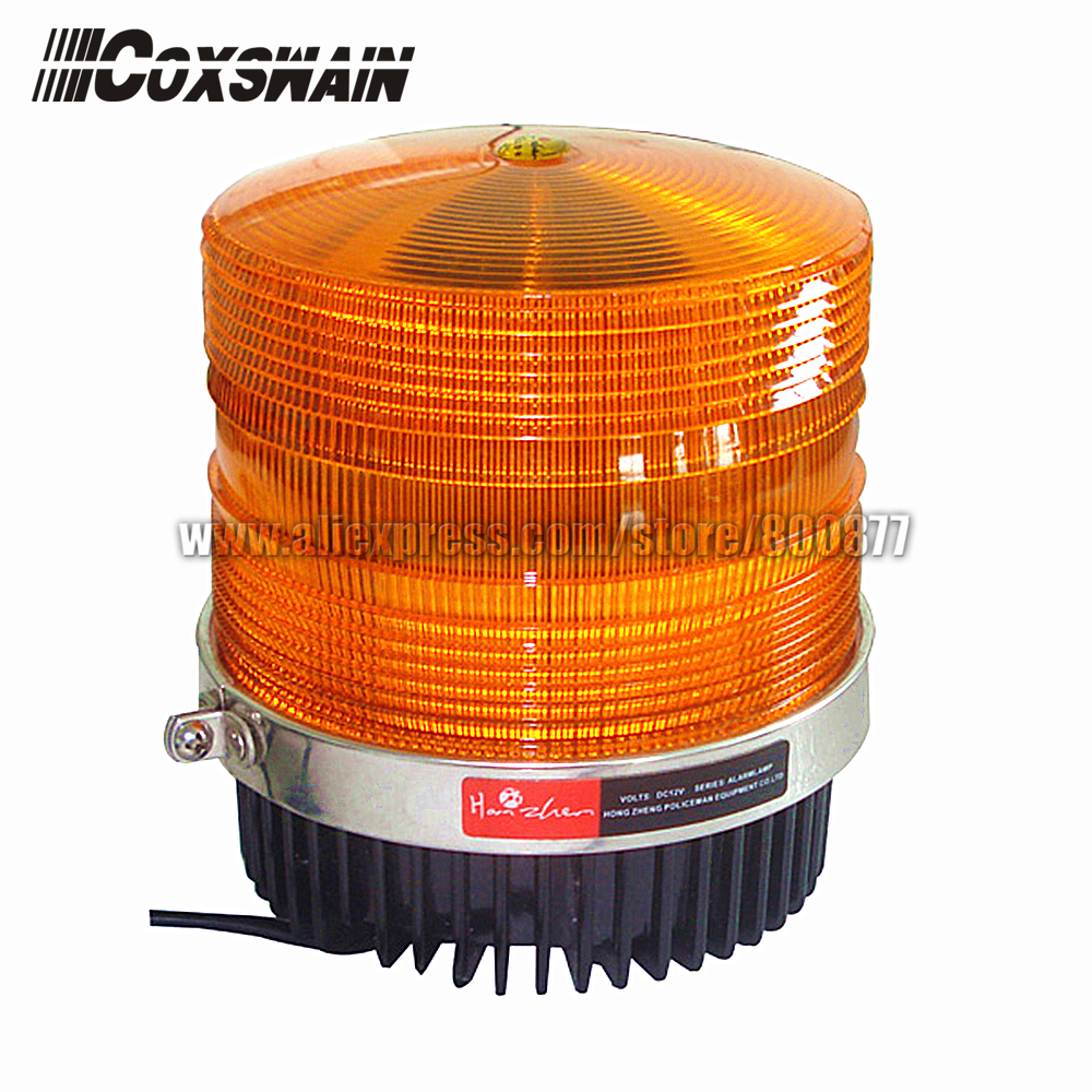 2014 New Upgrade Auto LED Beacon More Bright Warning Beacon Wide Voltage DC10 30V 12W Magnetic