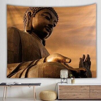 Grande Tenture Bouddha Assis