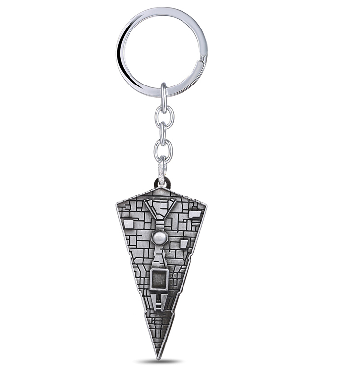 MS JEWELS Fans Gifts Movie Star Wars Keychain Vessel Spaceship Metal Key Rings For Present Chaveiro Key Chain
