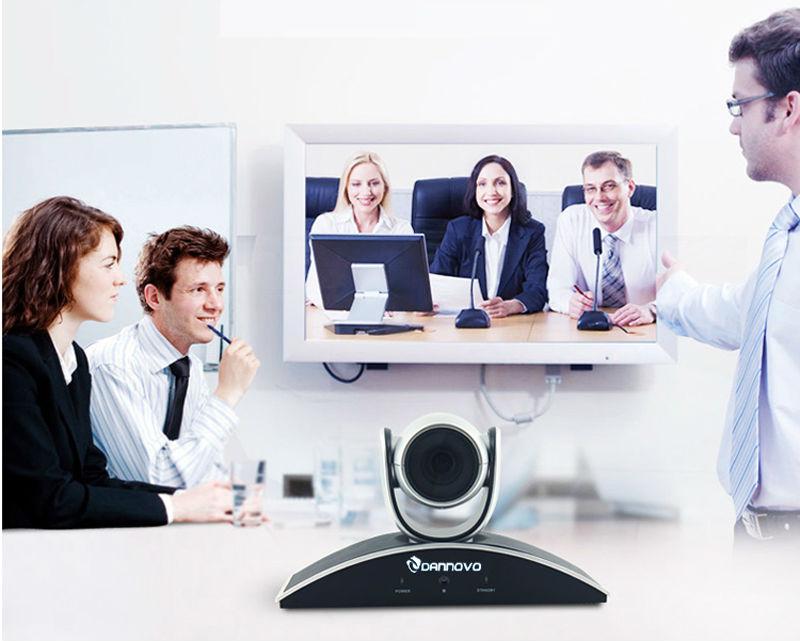 DANNOVO 1080P 720P USB PTZ Video Konfransı Otaq kamerası, 10x Optik - Ofis elektronikası - Fotoqrafiya 6