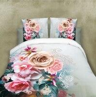 BEST.WENSD Wedding bedding 3d Jacquard comforter bedding sets king quilt cover+Bed linen+pillowcase flat bedspread bedsheet set