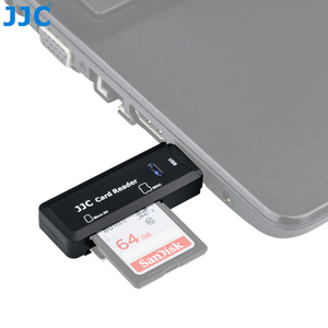 Image 3 - JJC 5Gbps USB 3.0 Camera Memory Card Reader SD/Micro SD/TF/SDHC/SDXC Readers for Win98/ME/2000/XP/WIN7/Mac OS