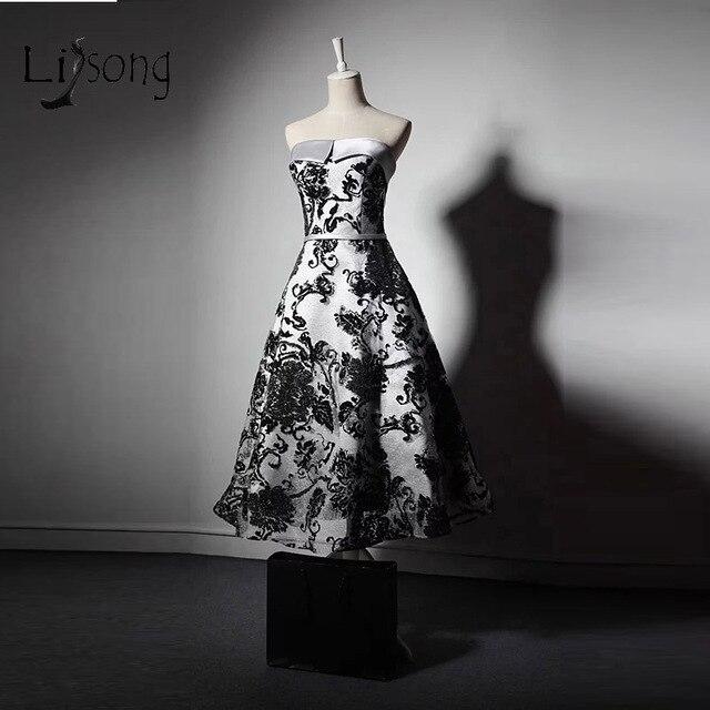 a607835904c Abiye Black Lace Ankle Length Evening Dresses Off Shoulder Gothic Vintage  Formal Evening Gowns 2017 Vestidos De Festa A209