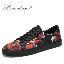 BIMUDUIYU Genuine Cow Leather Men Shoes Handmade Top Quality Flats Male Casual New Fashion Sneakers Zapatos Hombre