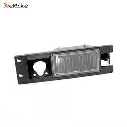 Eemrke Mobil Braket Kamera Warna Hitam Lampu Plat Nomor Perumahan untuk Fiat Marea Multipla Punto 500L Doblo Croma Tipo 365