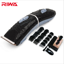 Riwa Electric Professional Hair Clipper for Men Baby Waterproof Barber Hair Trimmer Hair Cutting Machine 12 Shaving Combs 3-40mm