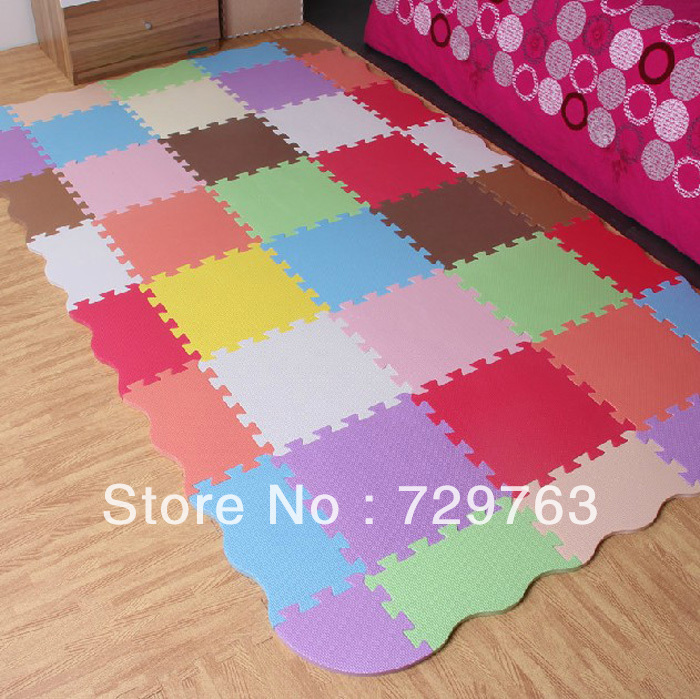Environmental Protection EVA Foam Puzzle Play Mat Baby Crawling Mats Splice Carpet Child Pad Kids Rug thickness of 1.4cm