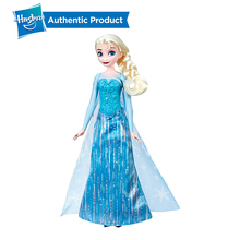 цена на Hasbro Disney Frozen Shimmer 'n Sing Elsa, Singing Doll Disney frozen toys Dress up Games