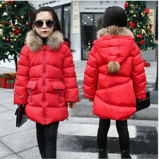 Jacket For Girls 5 6 7 8 9 10 11 12 13 14 Years Teenagers Autumn Winter Warm Baby Girl Coat Kids Teens Clothes Children Clothing baby girls party dress 2017 wedding sleeveless teens girl dresses kids clothes children dress for 5 6 7 8 9 10 11 12 13 14 years