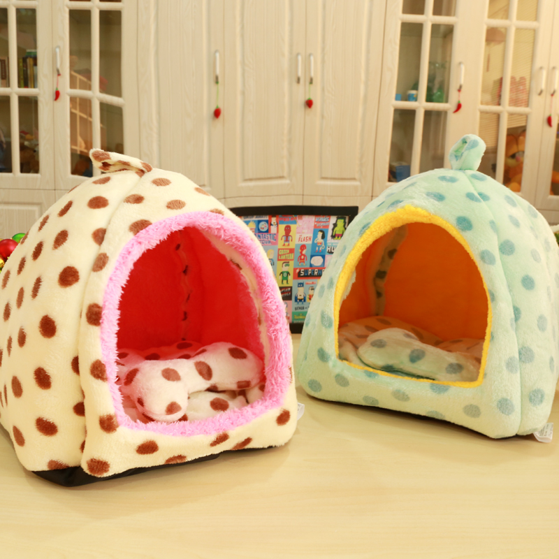 Puppy Kennel Poodle Washable cat litter Small dog Golden Retriever Midsize dog Pet Dog supplies Mongolia nest Keep warm