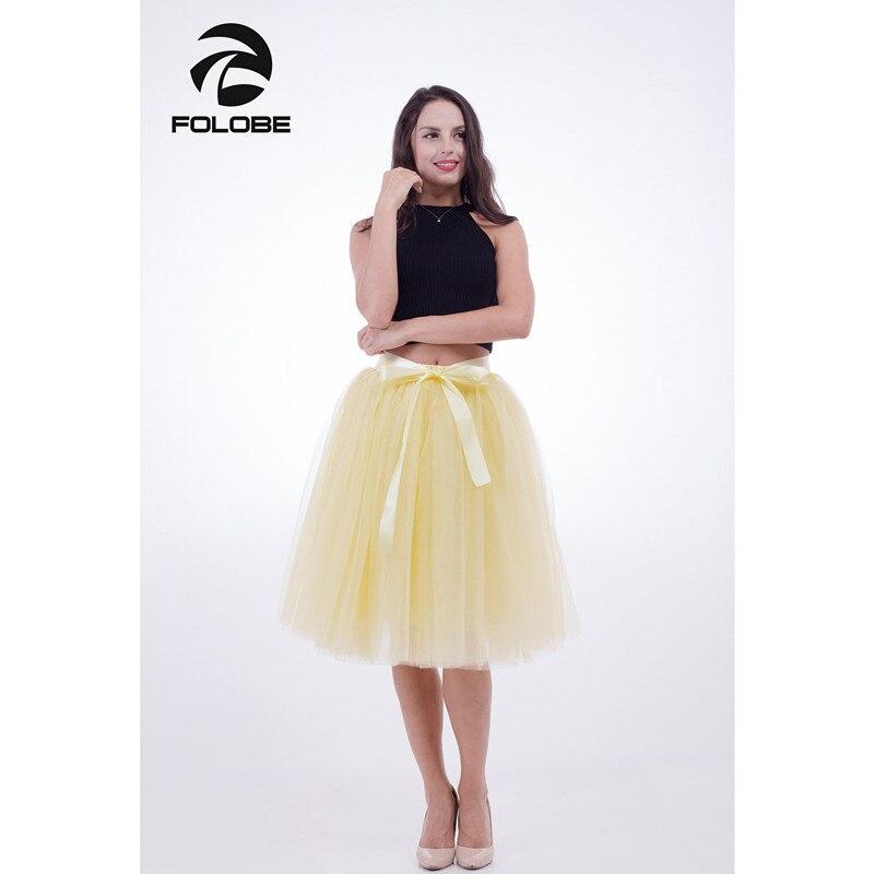 Желтые женские юбки