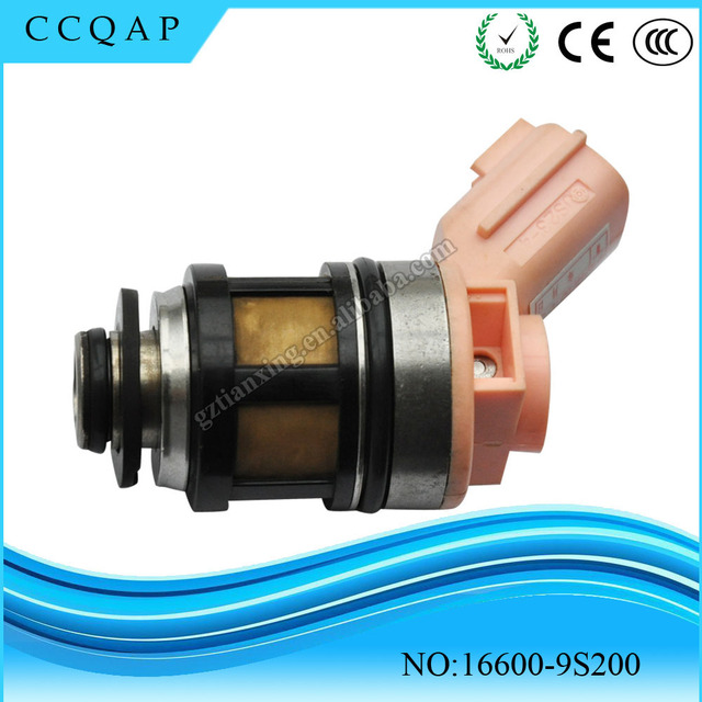 High Quality And FREE SHIPPING 1PCS 16600-9S200 166009S200 Fuel injector for Nissan