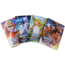 NEW 240 pieces Cards Cartoon Characters Card Collection Notebook Game Card Playing Album Pokemon Cards Holder Novelty Gift FREE pokemon card single sale mega m 90001 mgengar super card play anime hot toys cards game trading collection children gift