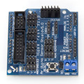 Free shipping Sensor Shield V5.0 sensor expansion board UNO MEGA R3 V5 for Arduino electronic building blocks of robot parts