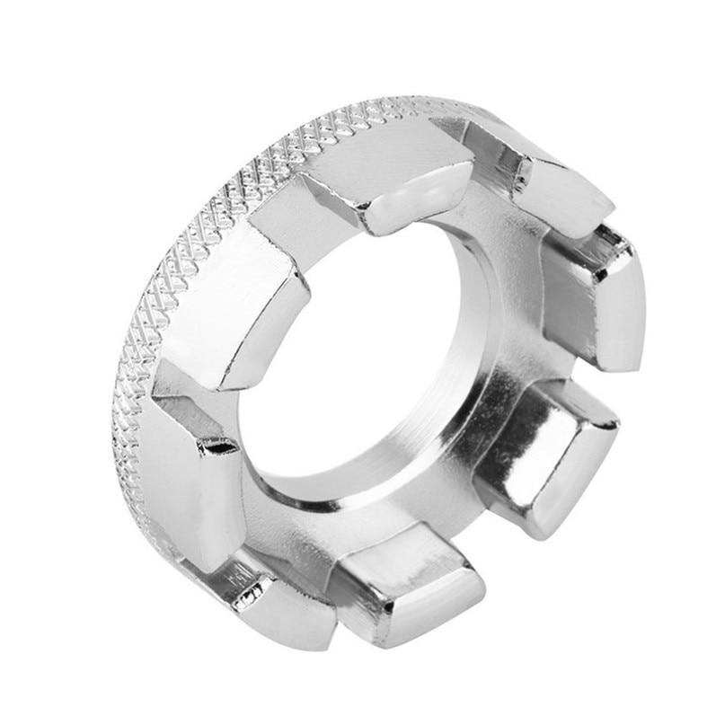 Bicycle spoke wrench tool 8 Way Spoke Nipple Key Bike Cycling Wheel Rim Spanner Wrench Repair Tool Accessories #2M30 (2)