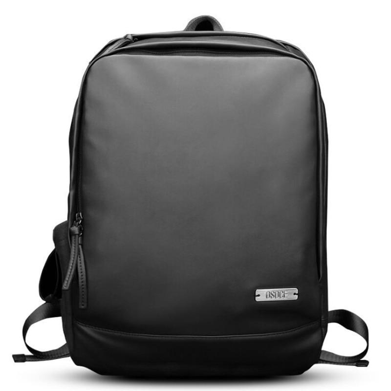dd0d2e21906c 2019 Новые рюкзаки для Для мужчин мягкие Искусственная Кожа ноутбука  отделение для ноутбука Повседневное рюкзак путешествия сумка для школы,.