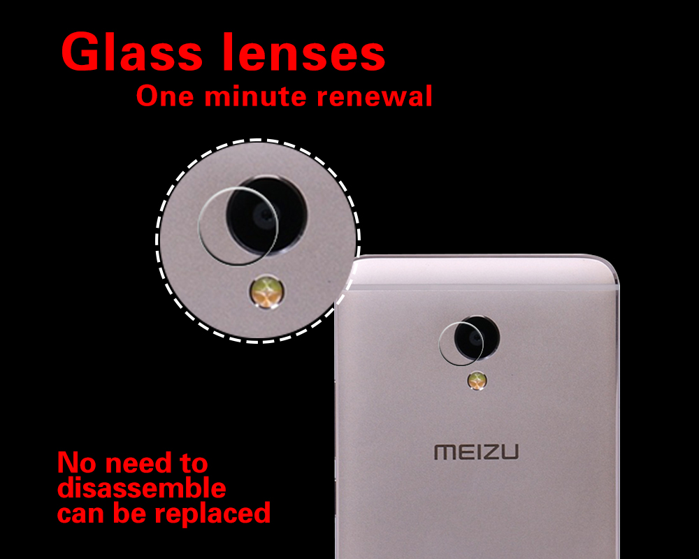 High Quality Camera Lens Tempered Glass For Meizu Note5 Meilan Note5 M5 Note Blue Charm Note 5 M623C M623H Back Lens Protector