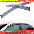 D_YL Windows visor car styling Vent Rain Sun Shield Window Visor For Toyota Camry 2012-2014 Stickers Covers Car-Styling Acce