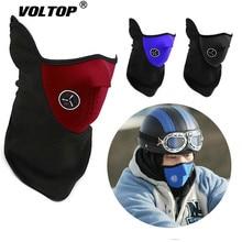 Тактическая мотоциклетная маска для лица теплый чехол Балаклава Лыжный Снег мото велоспорт теплый зимний шарф для защиты шеи Теплая защита