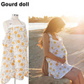 2016 Breastfeeding Cover Baby Infant Breathable Cotton Muslin nursing cloth L large size big Nursing Cover feeding cover