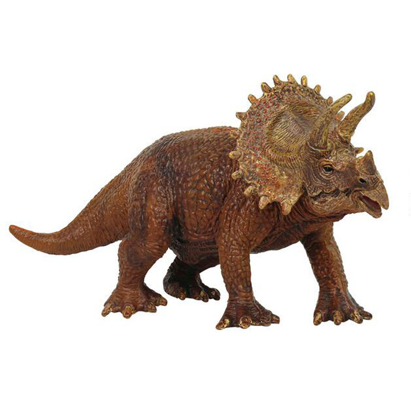 Starz Jurassic World Park Triceratops Plastic Dinosaur Toys Model Action Figures Boys Xmas Christmas Gift 12pcs set children kids toys gift mini figures toys little pet animal cat dog lps action figures
