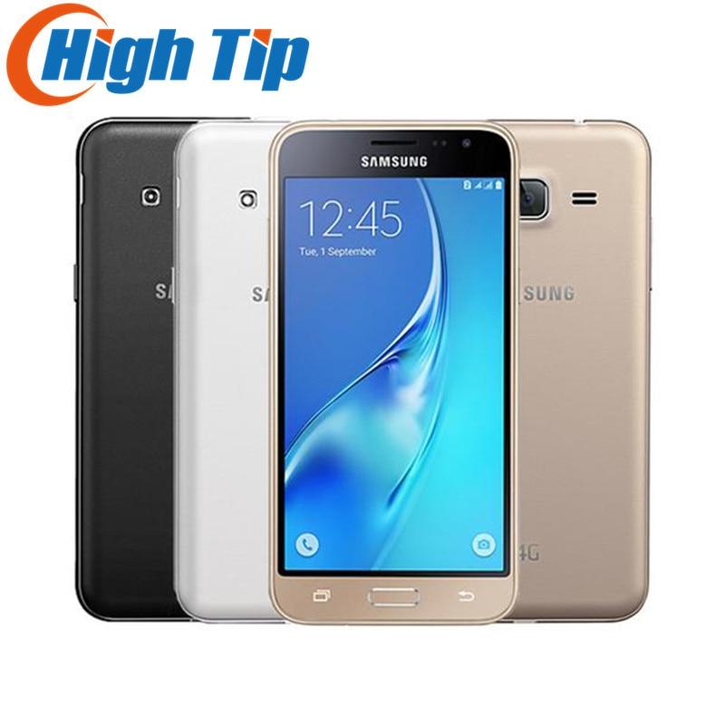 bilder für J320 Entsperrt Samsung Galaxy J3 (2016) 8 GB LTE android Mobile handys original gsm 4G DUAL SM-J320 Smartphone 8MP Quad Core