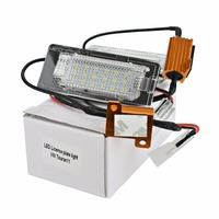 HengChiLun 2X12 V LED Kennzeichen Lampe Auto LED Kennzeichenbeleuchtung für Volkswagen Passat B6 B7 Polo Golf 5 6 7 Jetta MK5 CC