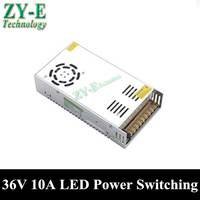 1X 360W 36V 10A LED Power supply Switching Power Supply Driver Adapter LED Strip light Display AC110V 240V to 36V transformer