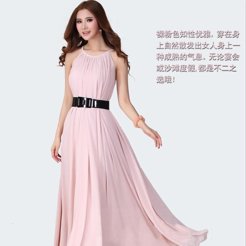 7862d021fd86 2015 Long Summer Bohemian Chiffon Vestidos Women Maxi Evening Strapless  Plus Size Dresses Online-in Dresses from Women s Clothing on Aliexpress.com  ...