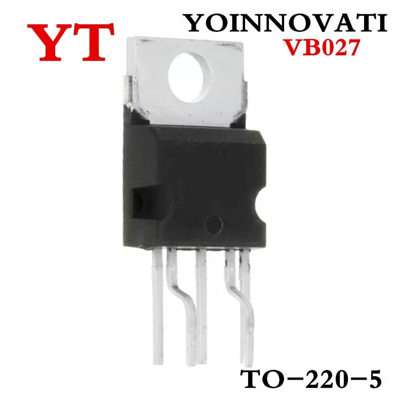 Free shipping 10pcs VB027 TO220 IC COIL DRIVER PAR 5PENTAWATTHV
