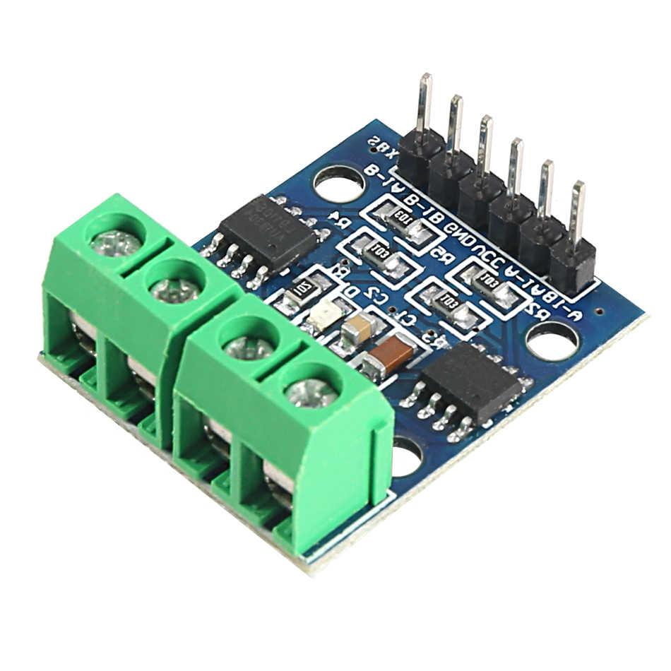 10 unids/lote L9110S h-bridge Motor paso a paso Dual CC Motor controlador placa módulo L9110S L9110 para Arduino