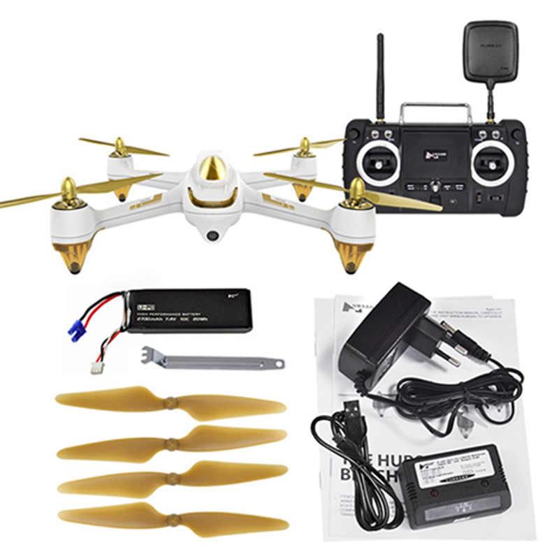 Drone d'origine Hubsan H501S X4 RC avec caméra 1080 P HD 5.8G FPV 10CH GPS suivez-moi Mode/retour automatique/quadrirotor jouet sans tête