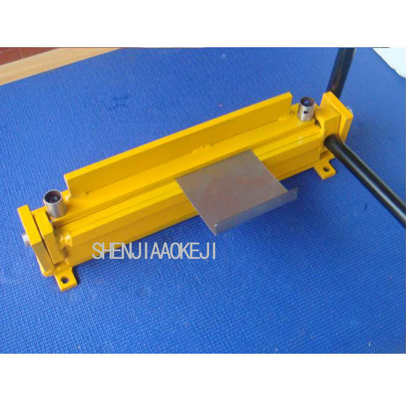 1pc DIY small manual bending machine Folding machine iron Sheet metal bending plate bending machine 1pc new manual sheet metal iron aluminum copper plate bending machine