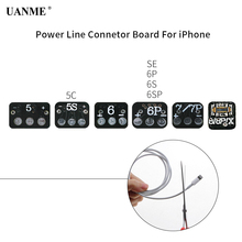 UANME DC Power Supply Phone Current Test Conector Board For iPhone 5 5S SE 6G 6S Plus 7 7plus 8 8Plus X Repair Connector Tools цена 2017