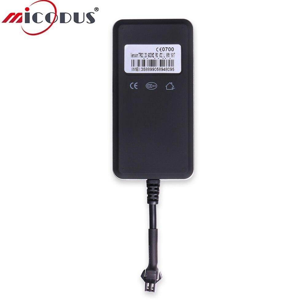 Car GPS Tracker 9-36V DC Monitor Circuits GSM Alarm GPRS Vehicle Tracking Locator TR02 Realtime LED Indicator Network Quad band