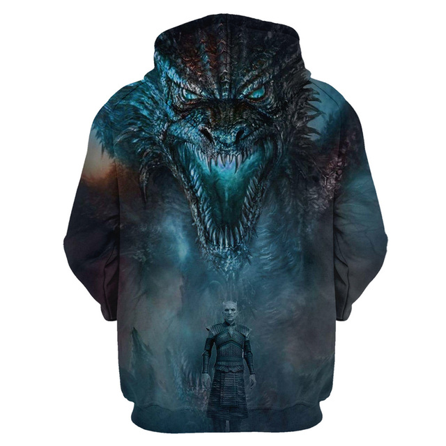 """Game Of Thrones Hoodies"" 3D Printing Hoodies 1"