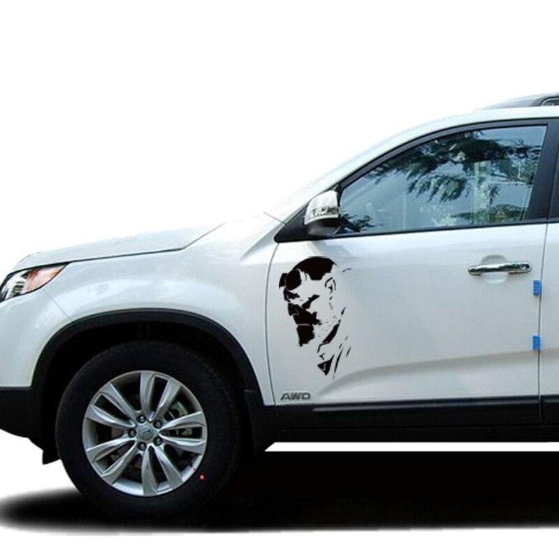 Автомобиль стайлинг прохладный Хеллбой наклейка на авто,светоотражающие мультфильм водонепроницаемый виниловые наклейки на авто и наклейки пленочной оболочкой