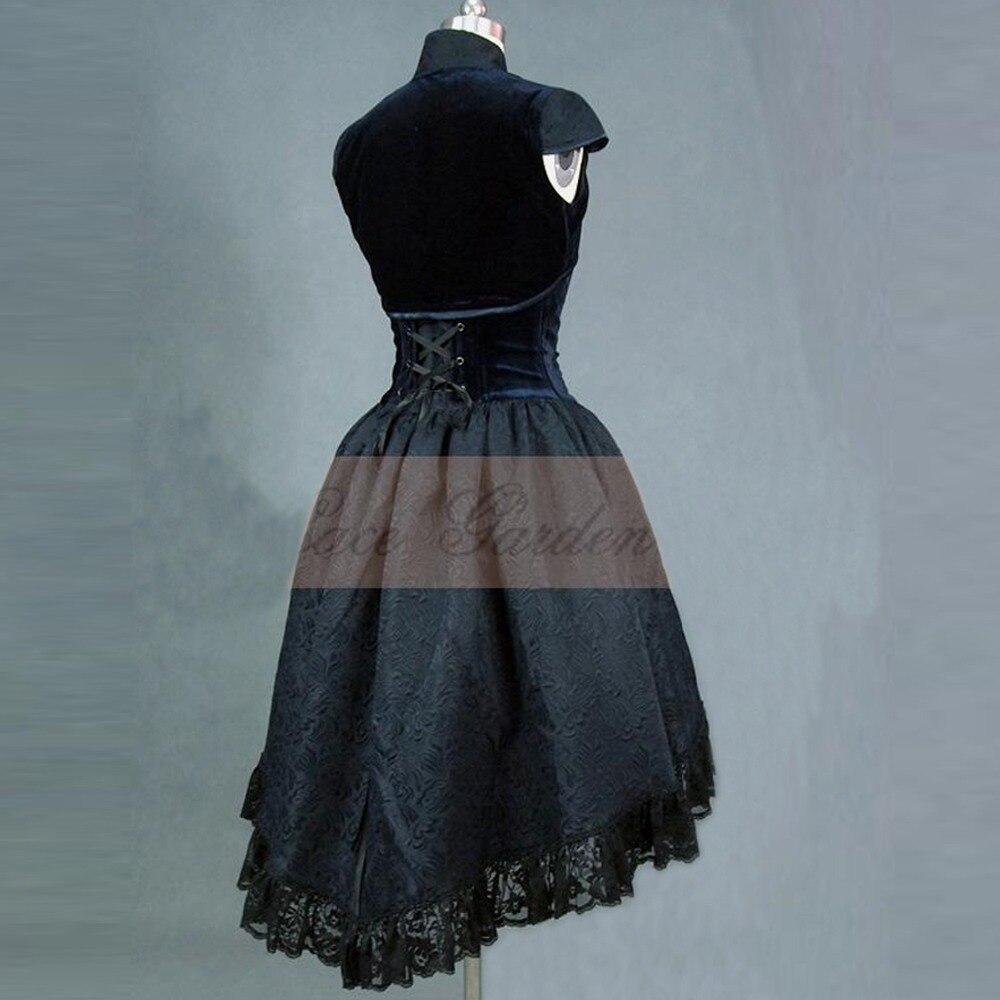 women Summer office dress vintage lolita dress Female Velvet ...