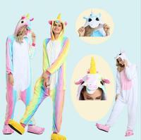 22 Styles All In One Flannel Anime Pijama Cartoon Cosplay Warm Sleepwear Hooded Homewear Women Cute