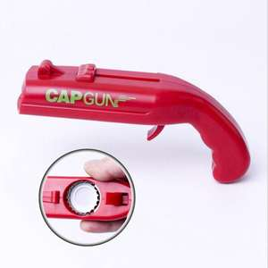 Vieruodis Bottle Opener Gun Cap Beer Bar Game