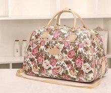 2017 waterproof luggage handbag women travel bag portable travel bags for women and men large capacity duffel bag free shipping