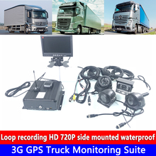 все цены на CMSV6 remote platform management Monitoring MDVR 3G GPS Truck Monitoring Suite AHD720P 3-inch metal side mounted car camera онлайн