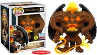 Exclusive Glow in the dark 6'' Official Funko pop The Lord of the Rings Balrog Vinyl Action Figure Collectible Model Toy