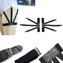 Mens Shirt Stays Garters Suspenders Braces For Shirts Gentleman Leg Elastic Men Shirt Suspenders Garter Holder Business