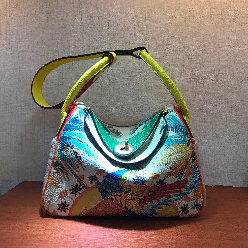 Cafunila sacs en cuir de vachette véritable pour femmes 2019 sacs à main de luxe femmes sacs designer célèbre marque sac à bandoulière de haute qualité