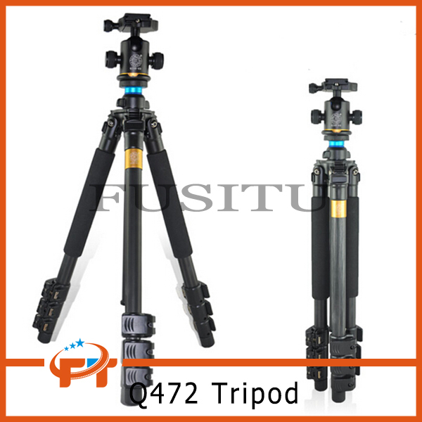 Free Shipping QZSD Q472 SLR Camera Tripod Monopod free shipping qzsd q999 portable tripod